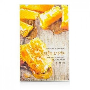 Real Nature Mask Sheet_Royal Jelly